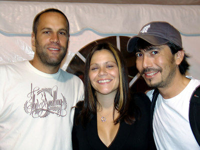 Jack Johnson, me, and my hubby at Northerly Island, Chicago 2005
