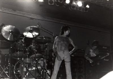 Bon Scott, AC/DC, Cumberland County Auditorium, Fayetteville, 1978