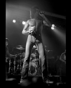 Bon Scott of AC/DC / Cumberland County Auditorium, Fayetteville, NC 1978