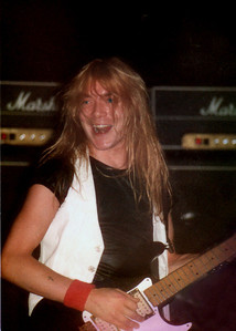 Dave Murry / Iron Maiden / Myrtle Beach, SC /  1982