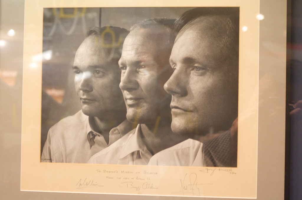 Apollo 11 Astronauts - Signed Photo