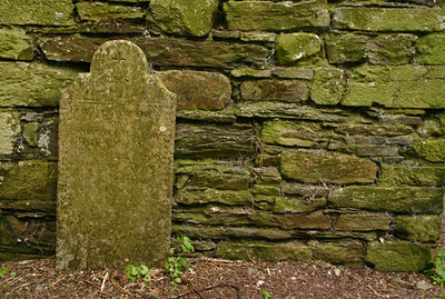 Celctic Grave & Mossy Wall