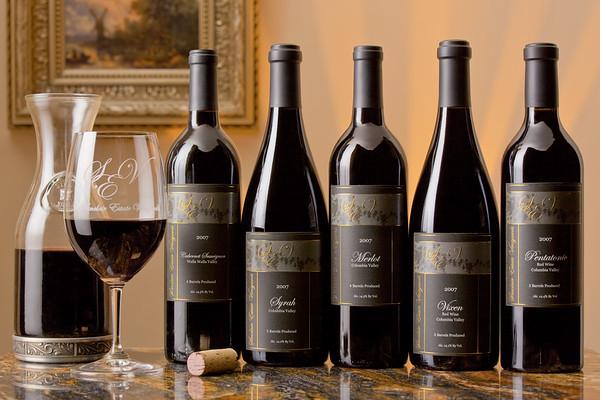 Sinclair Estate Vineyards<br /> Full Line Shot