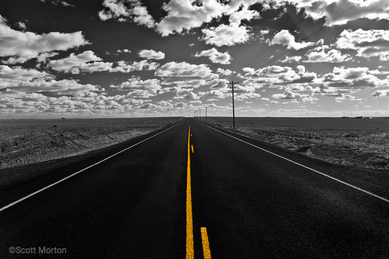 The Road out of Ritzville, WA