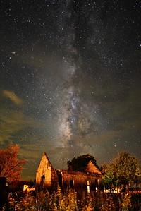 Pontontoc Ruins & Milky Way