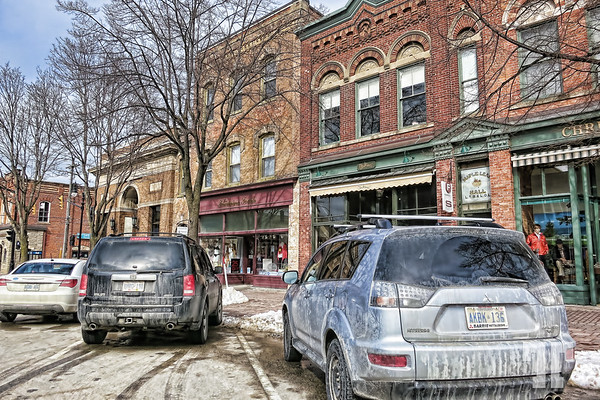 Winter in the streets of Collingwood, Ontario  (ZZ)