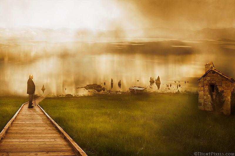 "Dream<br /> Mega Challenge #7 (Illustrating Text: ""The Lake Isle of Innisfree"")"