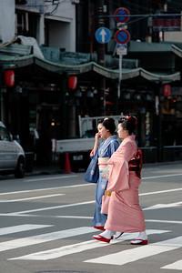 Kimono crossing