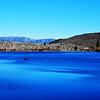 Beautiful Fall Morning at Convict Lake near Mammoth Lakes California