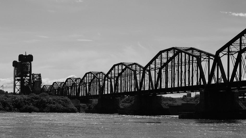 Train Bridge over the St. Marys River