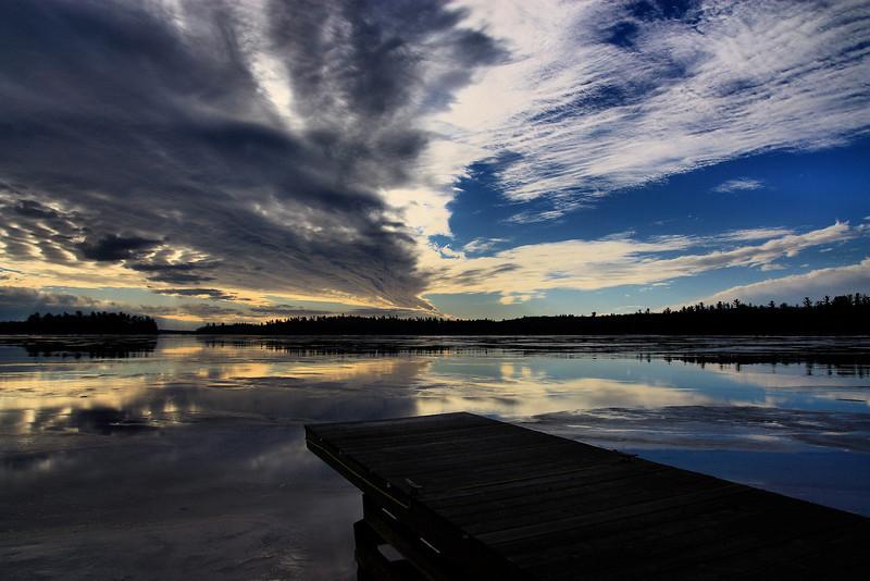 Neebish Bay Ontario, New Years Day