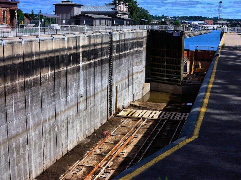 Rebuild at the Sault Locks