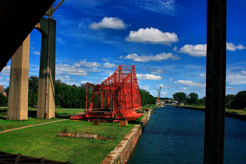 Emergency Swing Dam, Soo Ontario, Locks