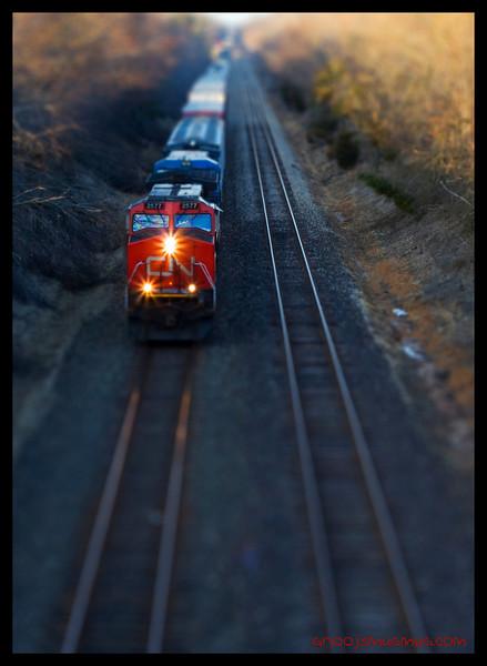 Tilt Shift Train
