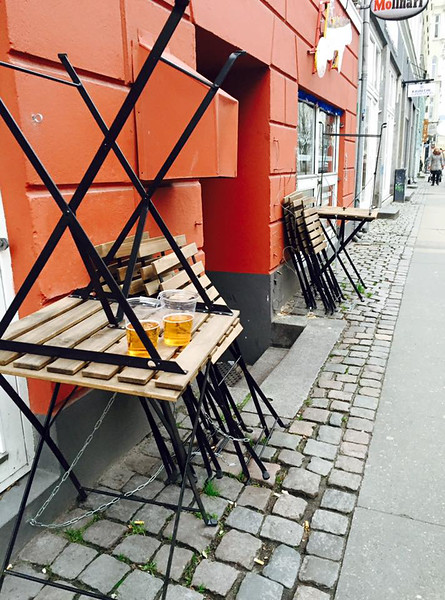 The morning after, Copenhagen