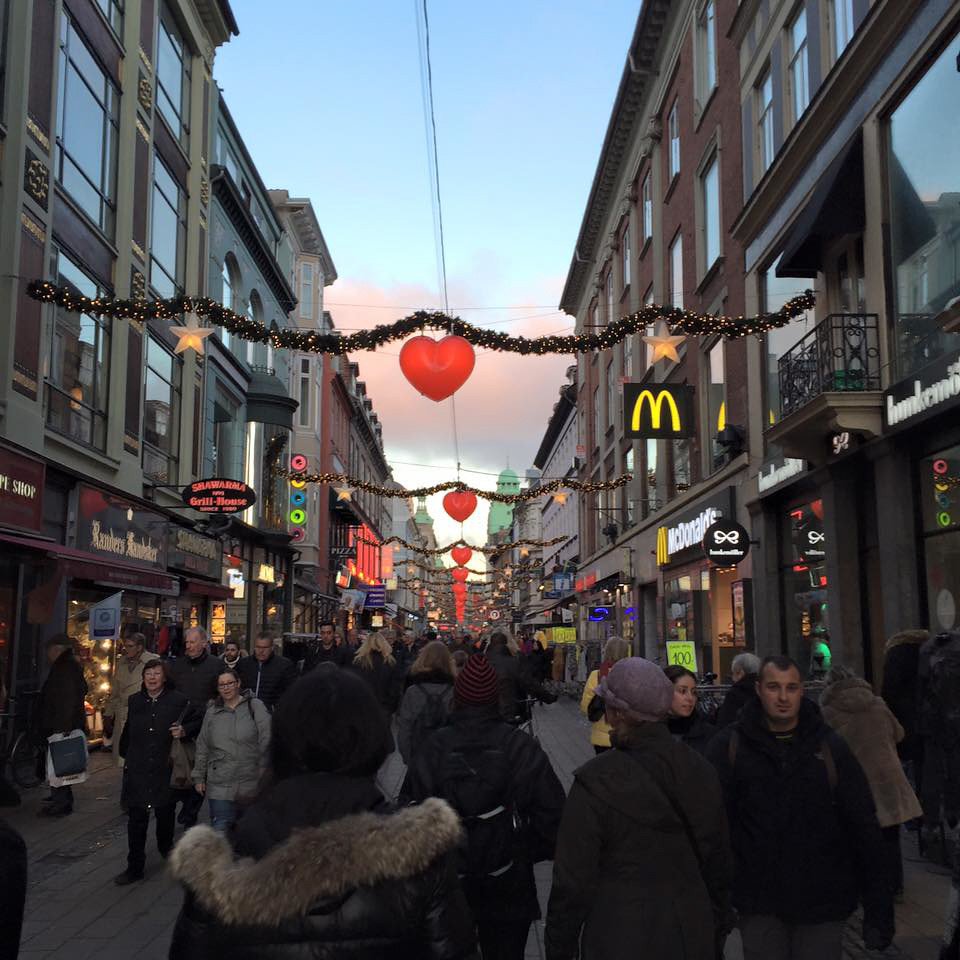 Christmas shopping in Copenhagen