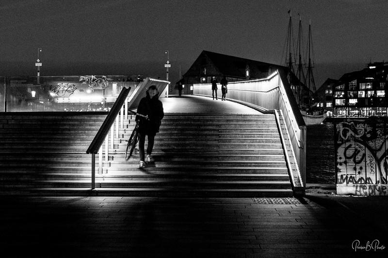 Kissing Bridge aka Inderhavnsbroen, Copenhagen