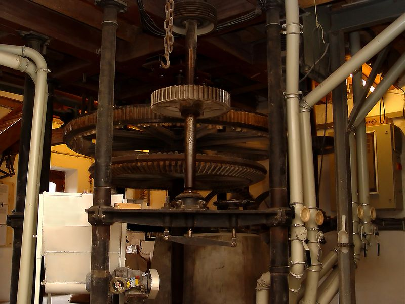 Part of the machinery to run the mill.