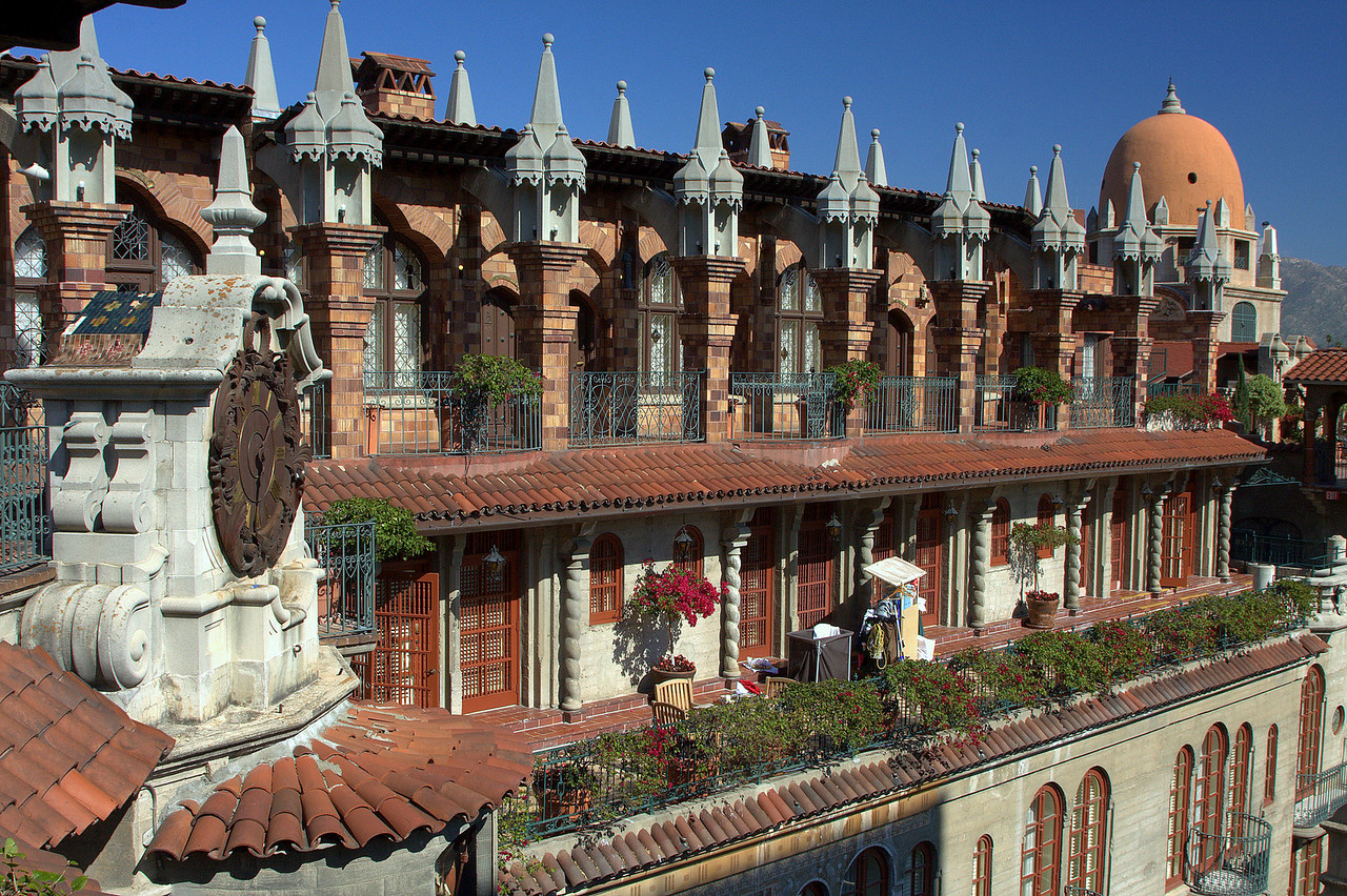 The Mission Inn in Riverside, California. Originally built as a hotel in the mission style, I could have sworn this was a real mission at first.