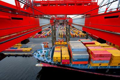 Container Crane Symmetry