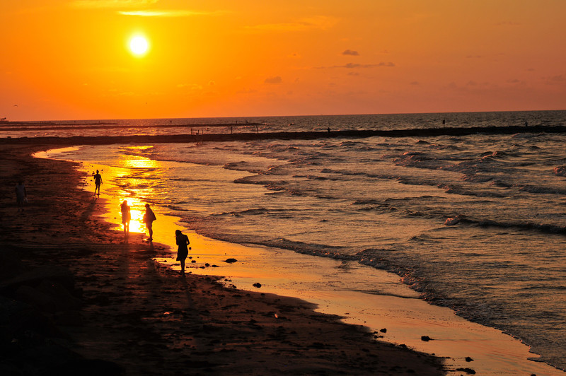 SUNRISE...Galveston taken by Robert Emerson