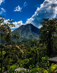 Arenal Volcano From The Resort