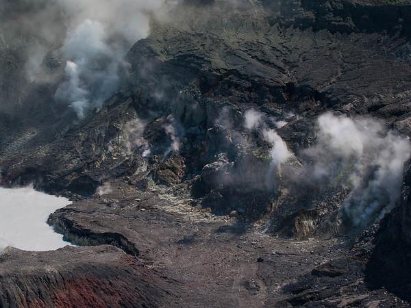 Poás Volcano - Fumeroles