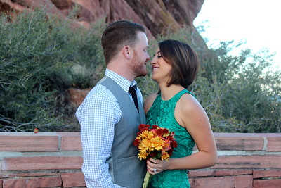 Zach & Evangelina Renew @ Red Rocks