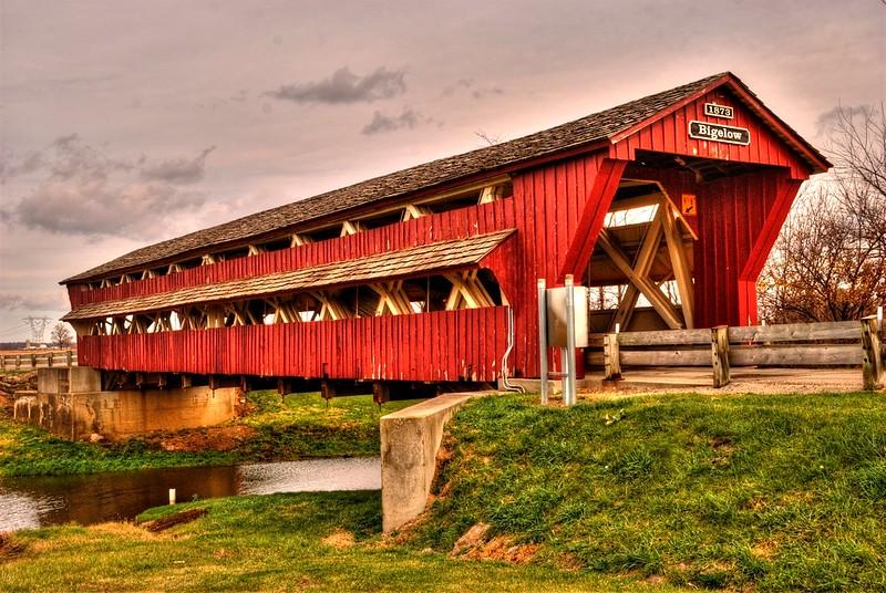 Bigelow Bridge (HDR)- Union County, Oh.