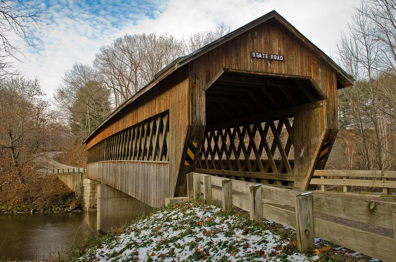 Slate Rd. Bridge #1 - Ashtabula County, Oh.