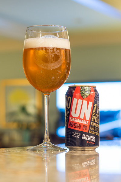 Revolution Brewing Unsessionable Imperial IPA