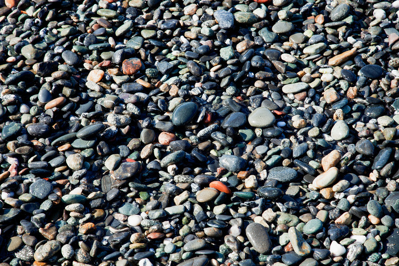 Pebbles Beach  -  Makes a great Jigsaw Puzzle!