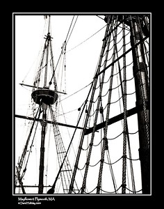 The Mayflower2 is a replica of the original Mayflower. It sailed from Plymouth to Plymouth, Mass in 1957, 300 years after the original voyage.