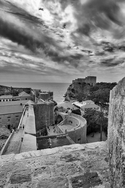 Dubrovnik Red Keep Mono