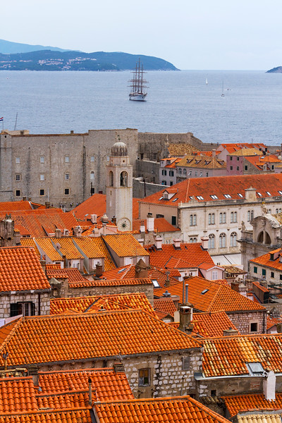Dubrovnik Old City Tall Ship