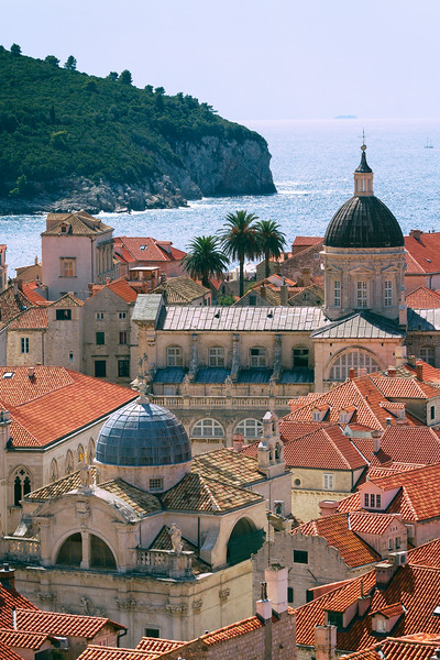 Dubrovnik Cathedral and Lokrum Close Up