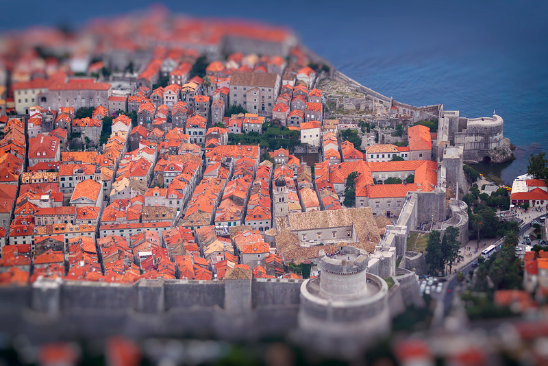 Dubrovnik from aboive