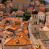 Dubrovnik North From Atop The Wall