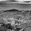 Dubrovnik Landscape Black And White