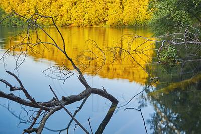Golden Hour At Lake Galovac