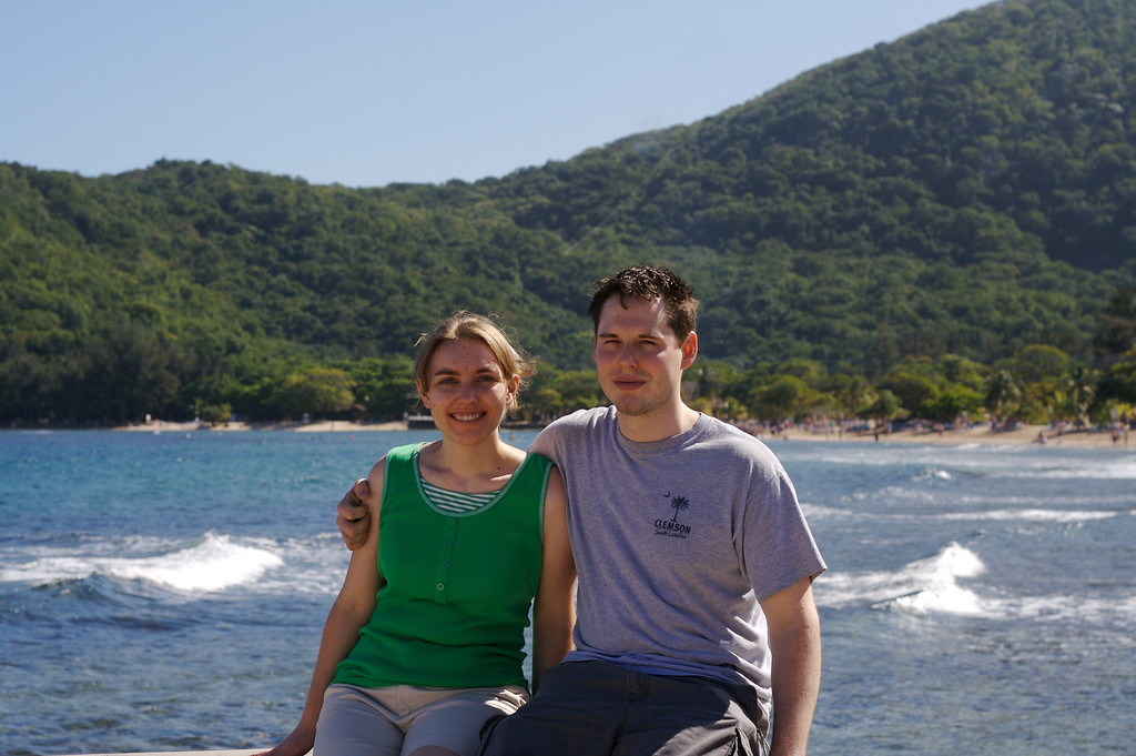 Jason and Stephanie on Labadee
