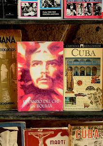 Ernesto 'Che' Guevera's presence is ubiquitous