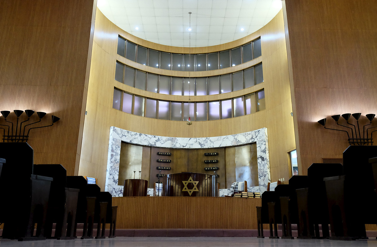 El Patronato Synagogue; main sanctuary of this conservative congregation