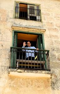 Carlos, proprietor of La Moneda Cubana Paladar