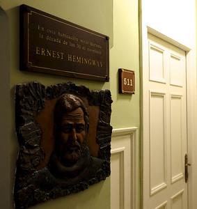 Ernest Hemingway Room (511) at Ambos Mundos Hotel
