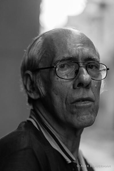 Fernando, prof. of Esperanto, retired, 280 National Peso pension ($12-13)