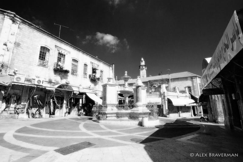 Main Plaza, Christian Quarter, Old Jerusalem #2138