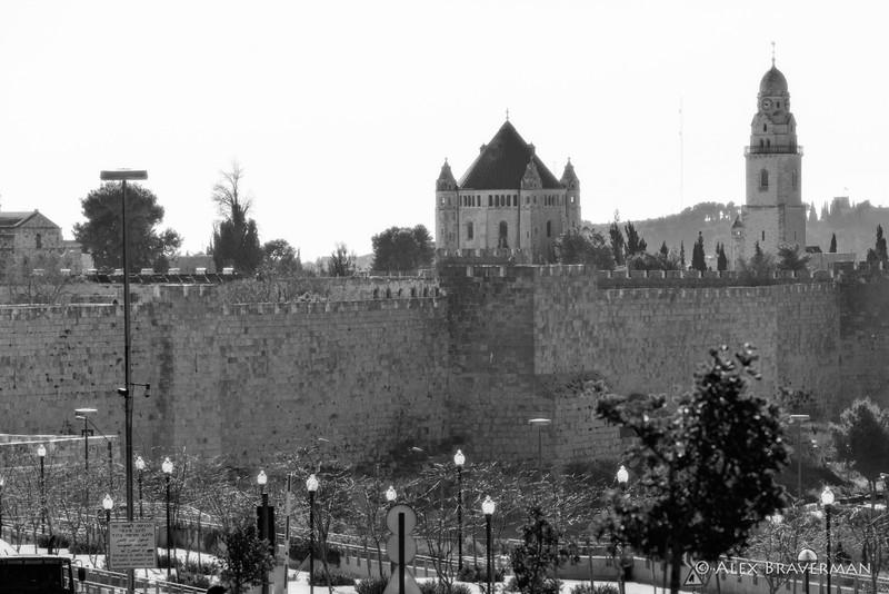 Christian Quarter behind the city wall, Old Jerusalem, Israel
