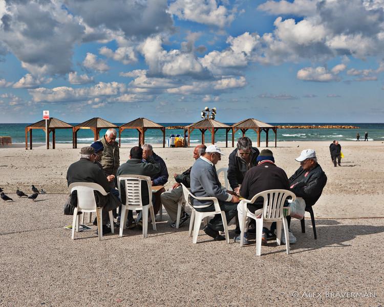 The Cardplayers, Tel Aviv