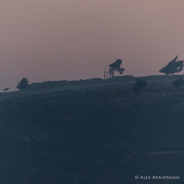 Metula - Lebanese hill 6 AM